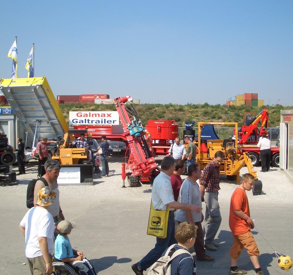 Galtrailer: feira Bauma 2007