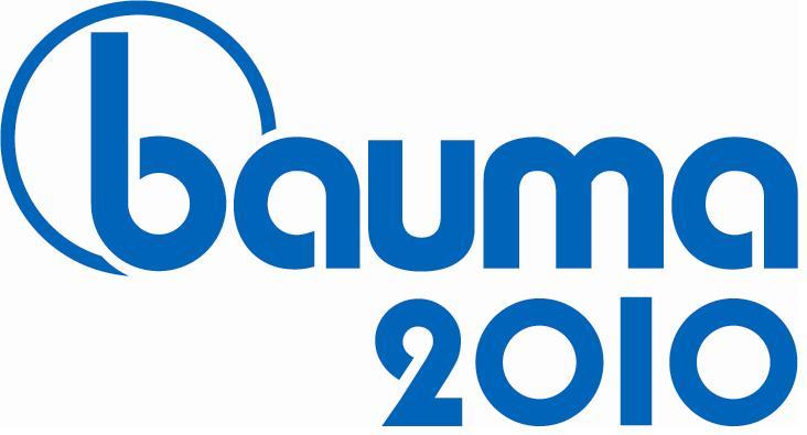 Galtrailer: feira Bauma 2010 - logo