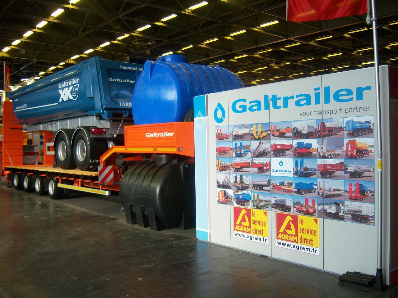 Galtrailer: feira Intermat 2009