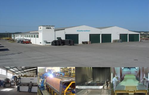 Galtrailer: instalações