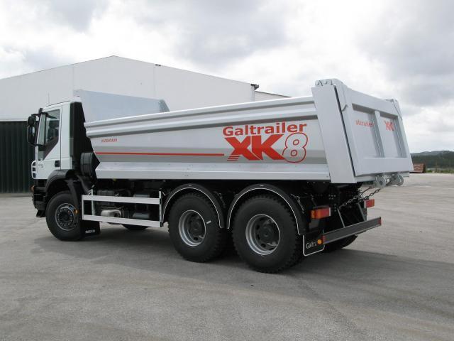 Galtrailer: caixa basculante - 3 eixos
