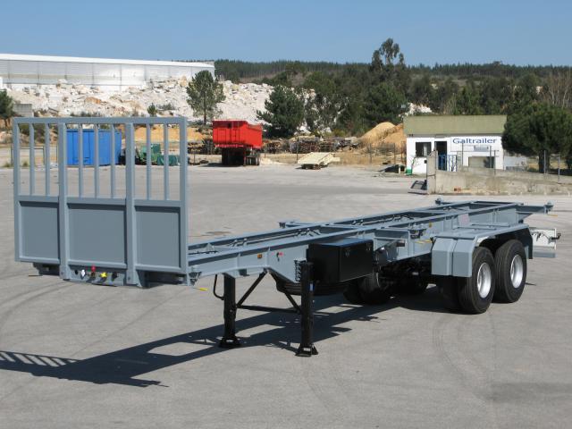 Galtrailer: semi-reboque plataforma - 2 eixos - reforçado
