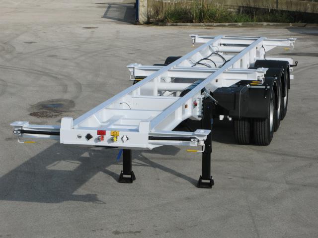 Galtrailer: plataforma - 3 eixos - reforçado