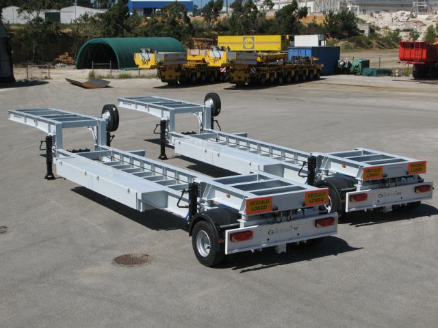 Galtrailer: porta-estacao-eléctrica - 1 eixo