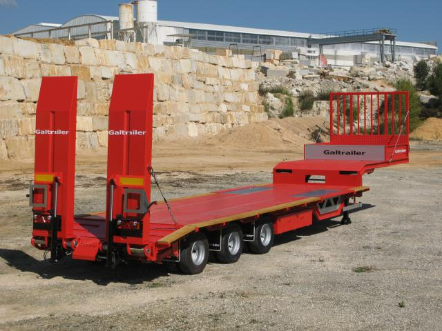 Galtrailer: porta-máquinas - 3 eixos - ligeiro