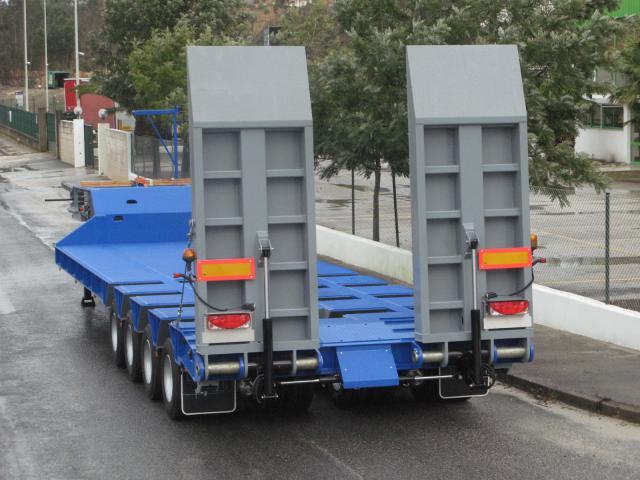Galtrailer: porta-máquinas - 8 eixos - reforçado