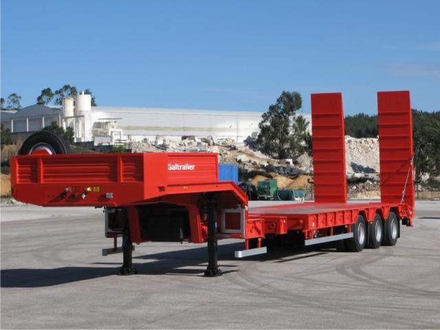Galtrailer: semi-reboque porta-máquinas especial - extensivel