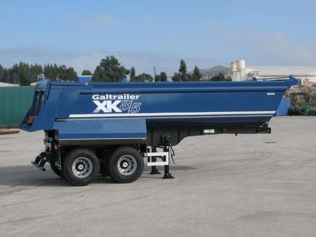 Galtrailer: semi reboque - 2 eixos