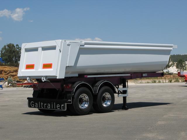 Galtrailer: semi-reboque - 2 eixos - roda simples