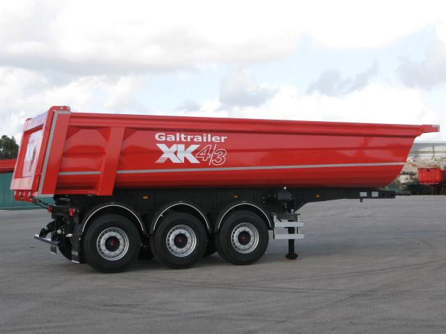 Galtrailer: semi-reboque basculante - 3 eixos - ligeiro