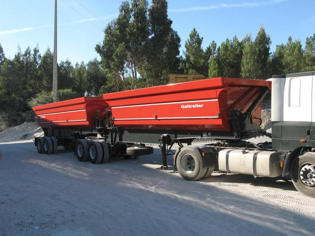 Galtrailer: semi-reboque basculante - Interlink