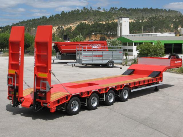 Galtrailer: semi-reboque porta-máquinas - 4 eixos