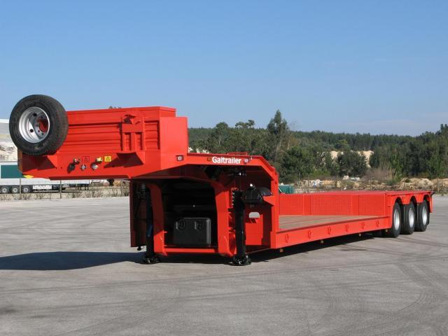 Galtrailer: semi-reboque porta-máquinas - especial